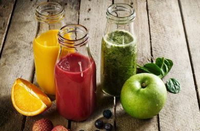 smoothie detox pour purifier son corps après les fêtes