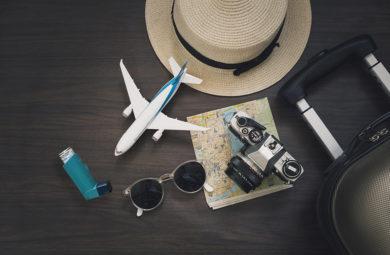 asthme et voyage en avion